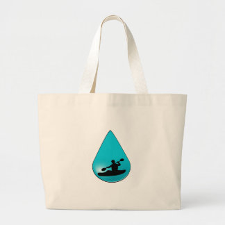 The Droplet Large Tote Bag