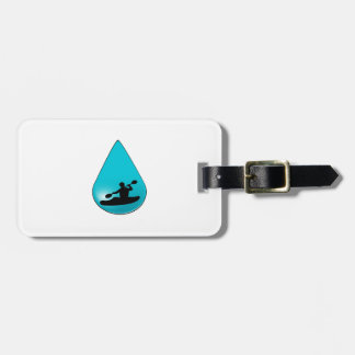 The Droplet Luggage Tag
