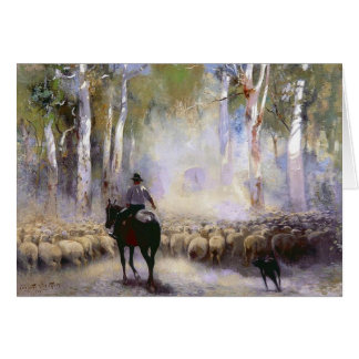 The Drover Greeting Card