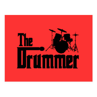 The Drummer Postcard