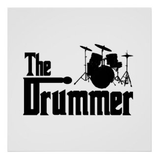 The Drummer Posters