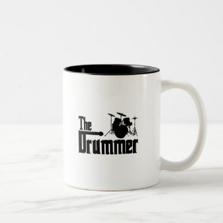 The Drummer Two-Tone Coffee Mug