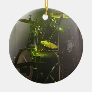 The Drums Round Ceramic Decoration