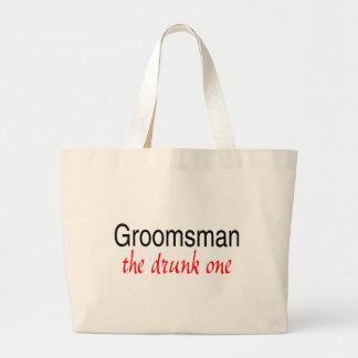 The Drunk One (Groomsman) Tote Bag
