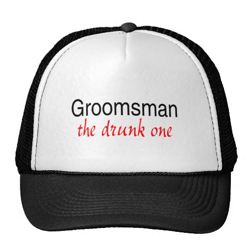 The Drunk One (Groomsman) Mesh Hats