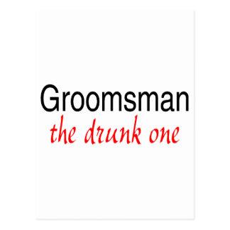 The Drunk One (Groomsman) Postcard