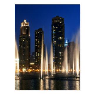 The Dubai Fountains Postcards
