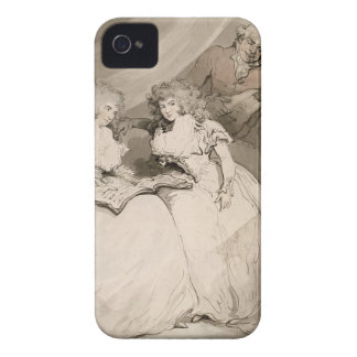 The Duchess of Devonshire and her Sister, the Coun iPhone 4 Case-Mate Case