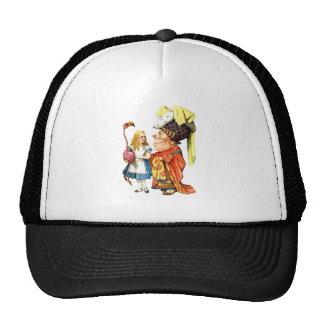 THE DUCHESS TEACHES ALICE FLAMINGO CROQUET CAP