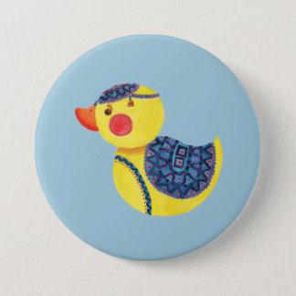 The Ducky Duck 7.5 Cm Round Badge