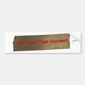 The Duct Tape Gourmet Bumper Sticker