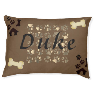 The Duke Dog Bed ( Add your own dog's name)