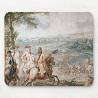 The Duke of Marlborough surveys his troops Mouse Pad
