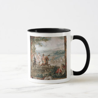 The Duke of Marlborough surveys his troops Mug