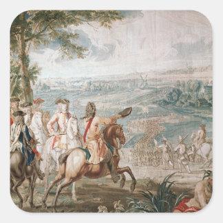 The Duke of Marlborough surveys his troops Sticker
