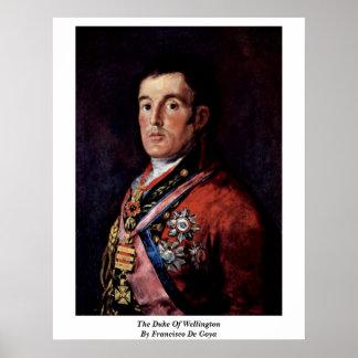 The Duke Of Wellington By Francisco De Goya Poster