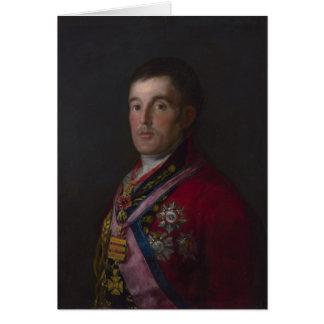 The Duke of Wellington Card