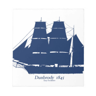 The Dunbrody 1845 by tony fernandes Notepads