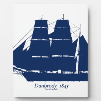 The Dunbrody 1845 by tony fernandes Plaque