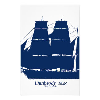 The Dunbrody 1845 by tony fernandes Stationery