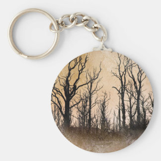 The Dying Trees Basic Round Button Key Ring