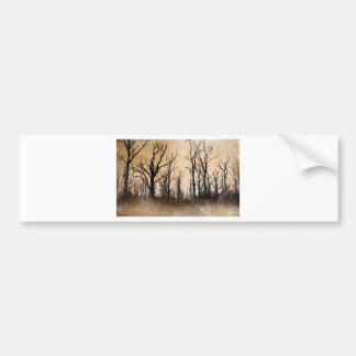 The Dying Trees Bumper Sticker