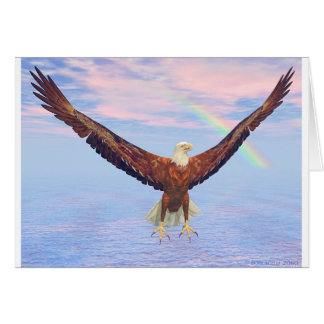 The Eagle is back Card