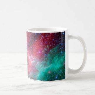 The Eagle Nebula in infrared Basic White Mug