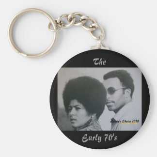 The Early 70's Key Ring