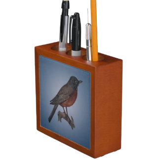 The Early Bird Catches The Worm Desk Organiser