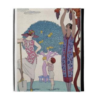 The Earth, 1925 (colour litho) iPad Folio Cover
