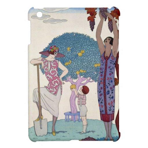 The Earth, 1925 (colour litho) iPad Mini Cover