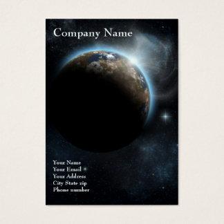 The Earth - 2012 Pocket Calendar Business Card