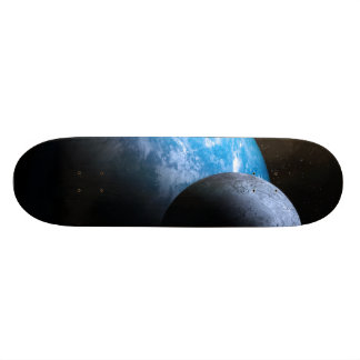 The Earth and Moon Skate Boards