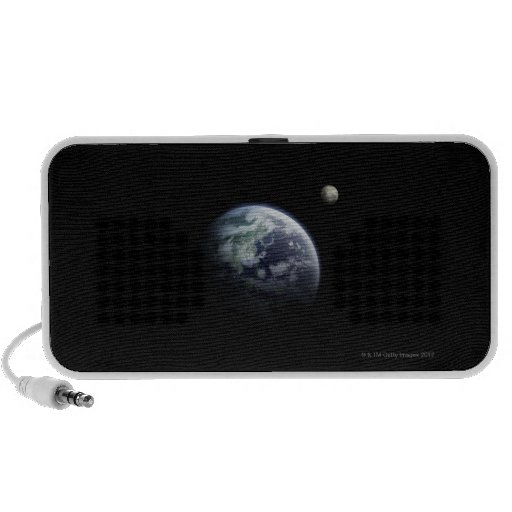 The Earth and Moon Travel Speakers