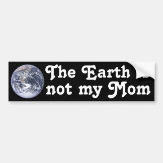 The Earth Car Bumper Sticker