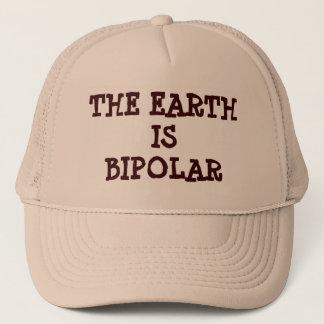 The Earth is Bipolar Trucker Hat
