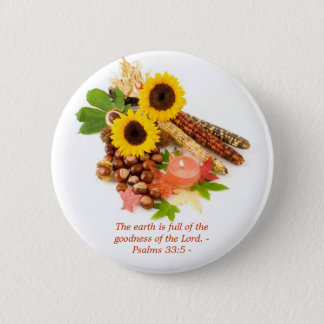 The earth is full of the goodness of ... pin