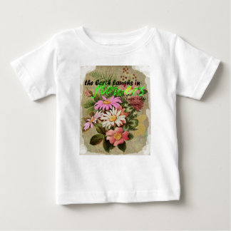 The Earth Laughs in Flowers Baby T-Shirt