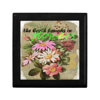 The Earth Laughs in Flowers Gift Box