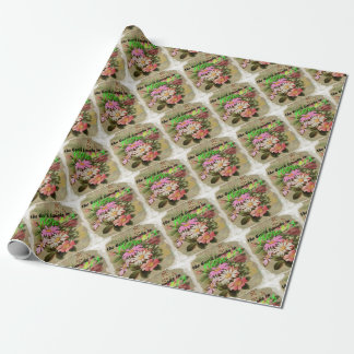 The Earth Laughs in Flowers Wrapping Paper
