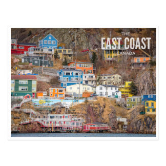 The East Coast, Canada Postcard