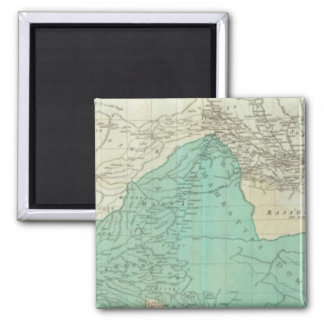 The East Indies, with the roads northern section Square Magnet