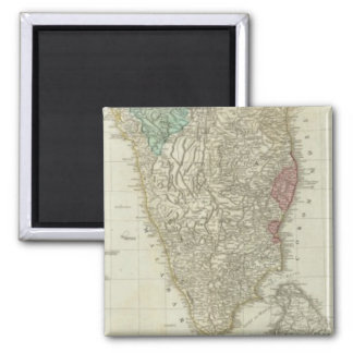 The East Indies, with the roads southern section Refrigerator Magnet