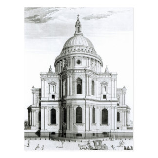 The East Prospect of St. Paul's Cathedral Postcard
