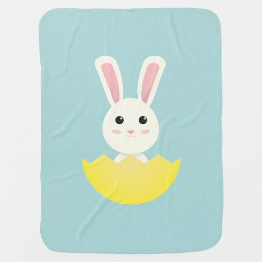 The Easter Bunny I Baby Blanket