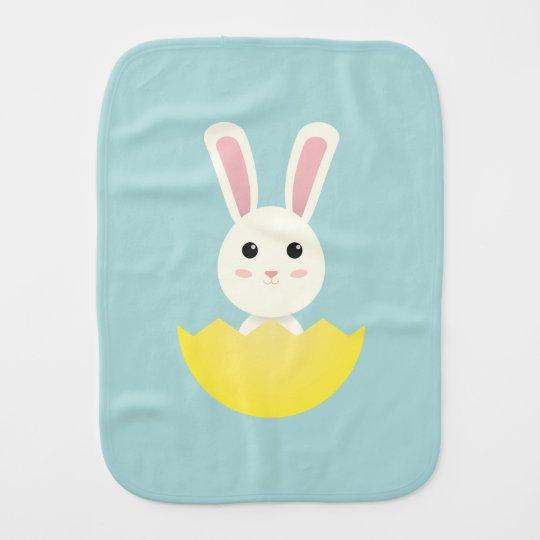 The Easter Bunny I Burp Cloth