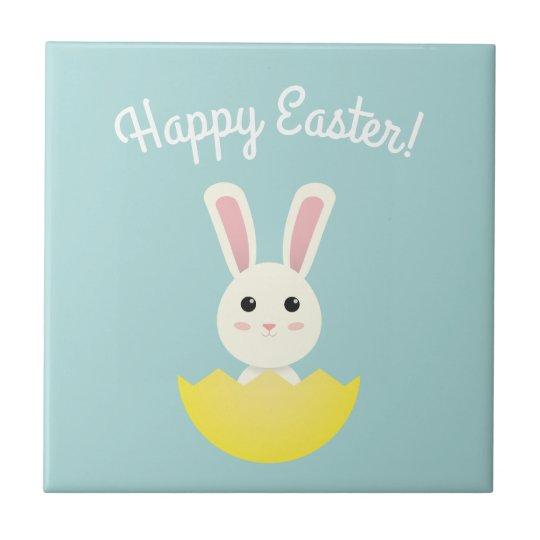 The Easter Bunny I Ceramic Tile
