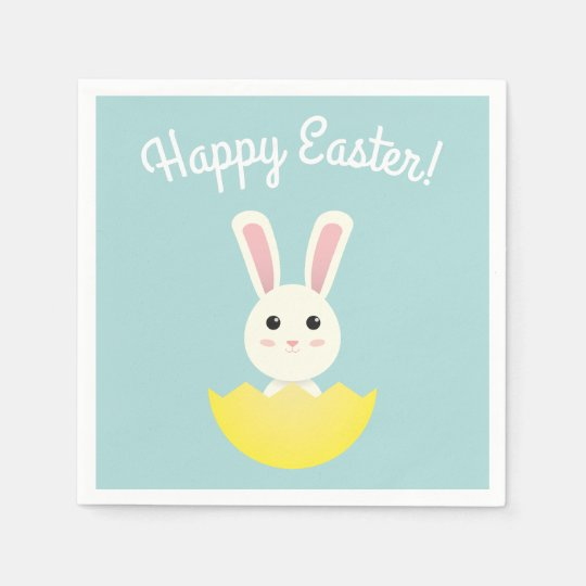 The Easter Bunny I Disposable Serviette