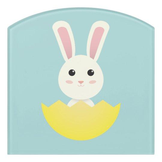 The Easter Bunny I Door Sign